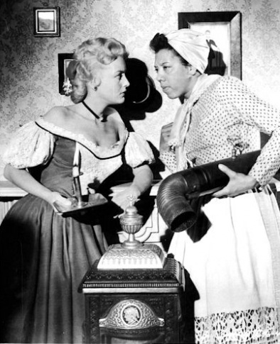 Image result for the horse soldiers 1959 althea gibson and constance towers