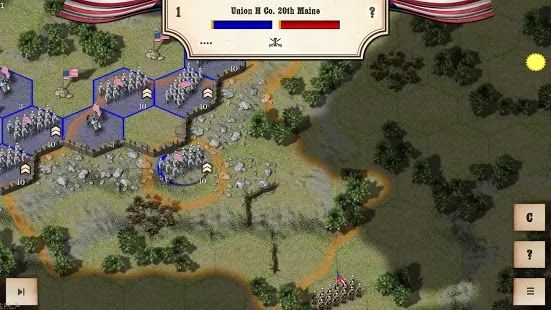 Civil War: Gettysburg Apk+Data Free on Android Game Download