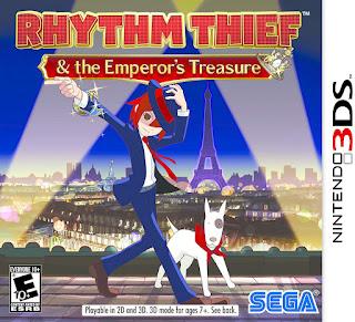 Rhythm Thief 3DS Cia