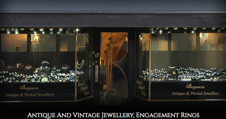 Beautiful antique jewellery from berganza jewellers the diary of a based in prestigious hatton garden in london the well known area at the centre of the jewellery and diamond trade in the uk the store is a veritable aloadofball Choice Image