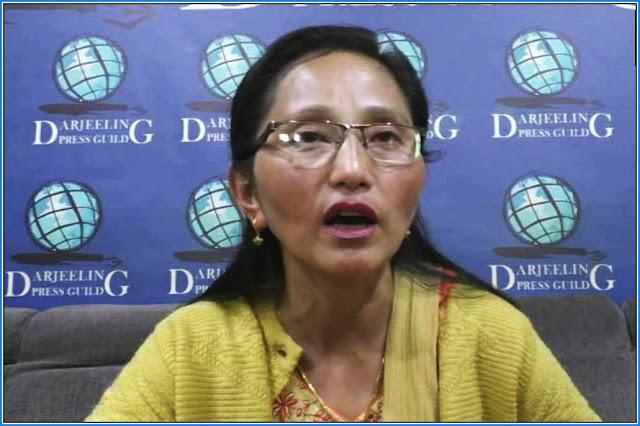 Prativa Rai Darjeeling municipality chairperson