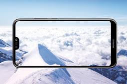 هاتف HUAWEI nova 3e ينجح بتقليص المسافة بين حافته العليا وجوانبه