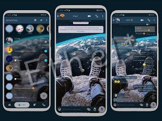 All Star Space Theme For YOWhatsApp & GB WhatsApp By Ethel