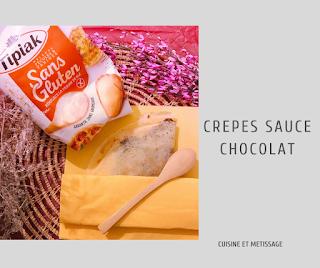 crêpes sauce chocolat