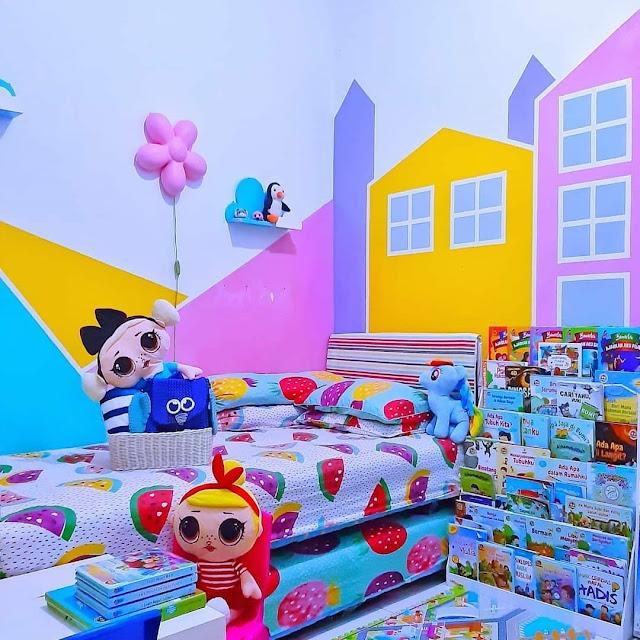 Desain Kamar Tidur Minimalis Serba Doraemon