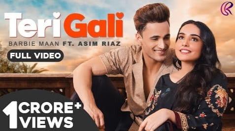 Teri Gali Lyrics in Hindi, Barbie Maan, Guru Randhawa