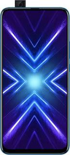 Honor 9X (Sapphire Blue, 128 GB)  (4 GB RAM)