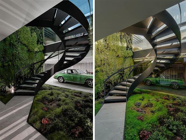 staircase round design