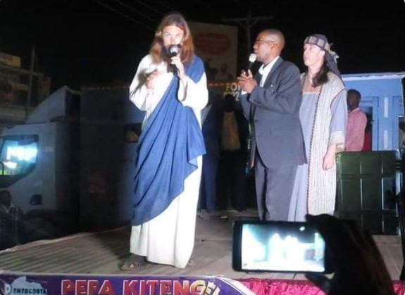 "Excitement As ""Jesus Christ"" Visits Kenya ( See Photos/Videos)"