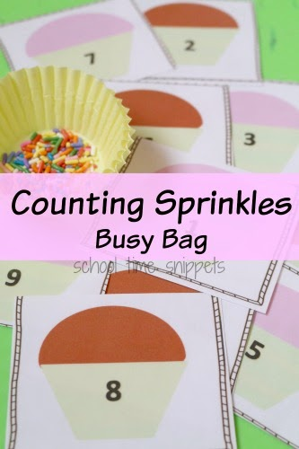 Preschool Math Printable Counting Cards