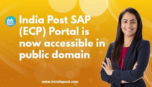 India Post SAP login (ECP Portal)