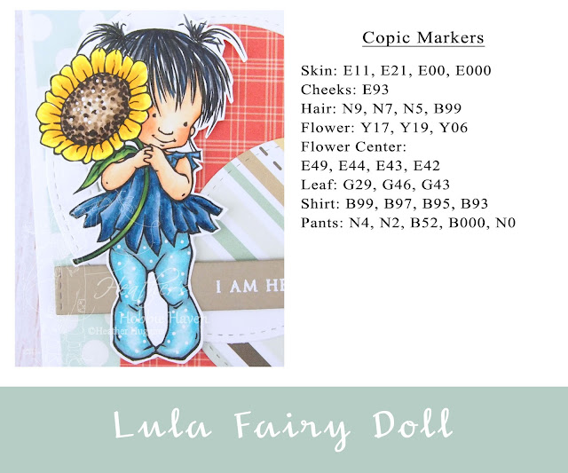 Heather's Hobbie Haven - Color Wednesday - Lula Fairy Doll