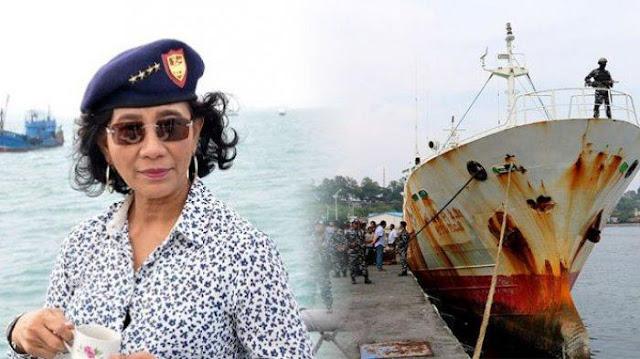 Susi: Saya Mohon ke Presiden, Cegah Kembalinya Kapal Asing