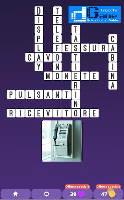 Soluzioni One Clue Crossword livello 18 schemi 3 (Cruciverba illustrato)  | Parole e foto