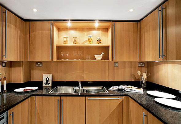 wooden kitchen interior design. But You Can Also Modified The Wooden Kitchen Design  With Used Some Combination Such As Black Color Glasses Interior And Unique Lamp Amazing Home Designs Get Beauty From Wooden Kitchen Design