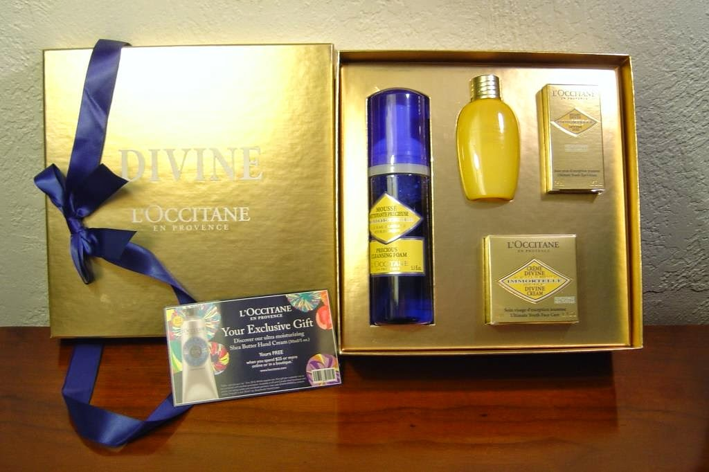 Ultimate Gift of Youth Gift Set From L'Occitane, opened.jpeg