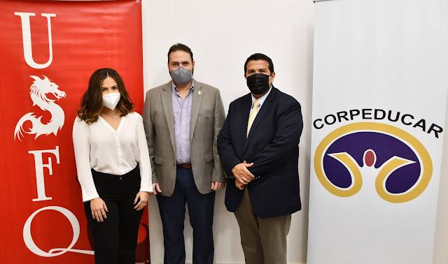 La USFQ renueva convenio con la Corporación Ecuatoriana para la Calidad de la Educación de la región Costa