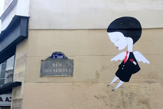 Sunday Street Art : Fred le Chevalier - rue des Vertus - Paris 3
