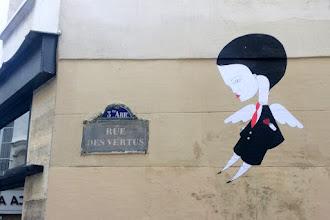 Sunday Street Art : Fred le Chevalier - rue des Vertus - Paris 3