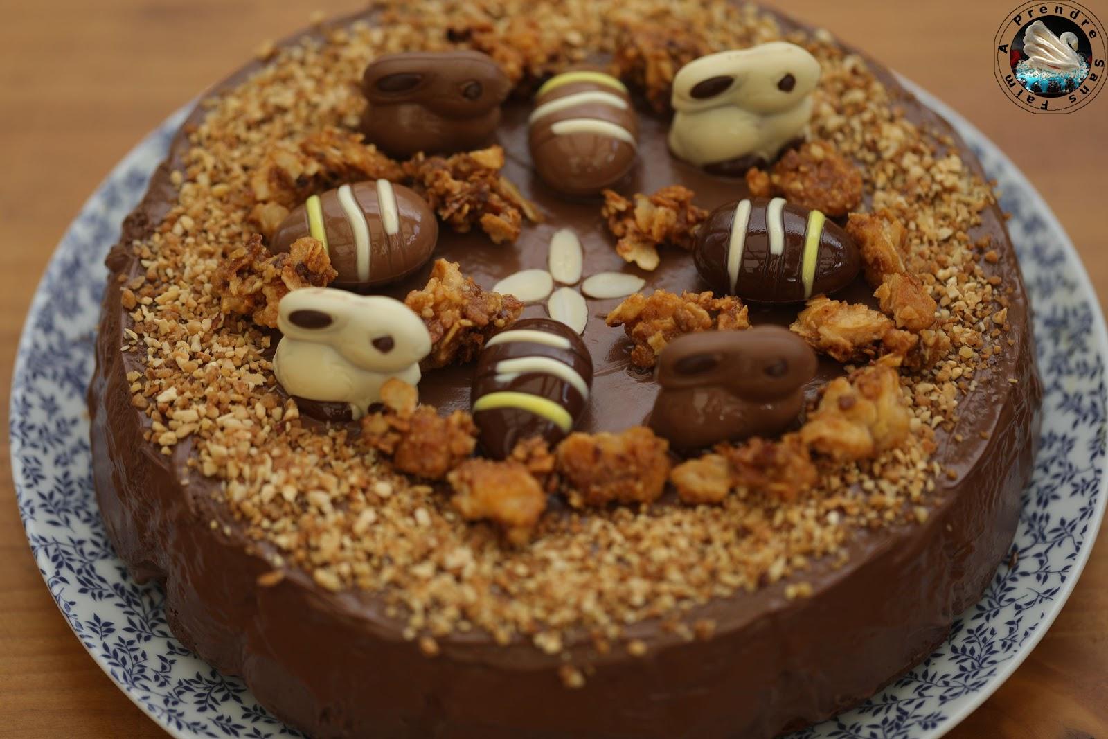 Gâteau praliné au yaourt