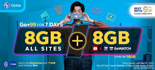 Globe new prepaid promo