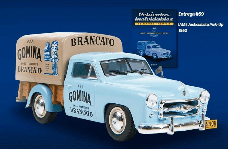 IAME Justicialista Pick-Up 1952 vehiculos inolvidables de reparto y servicio