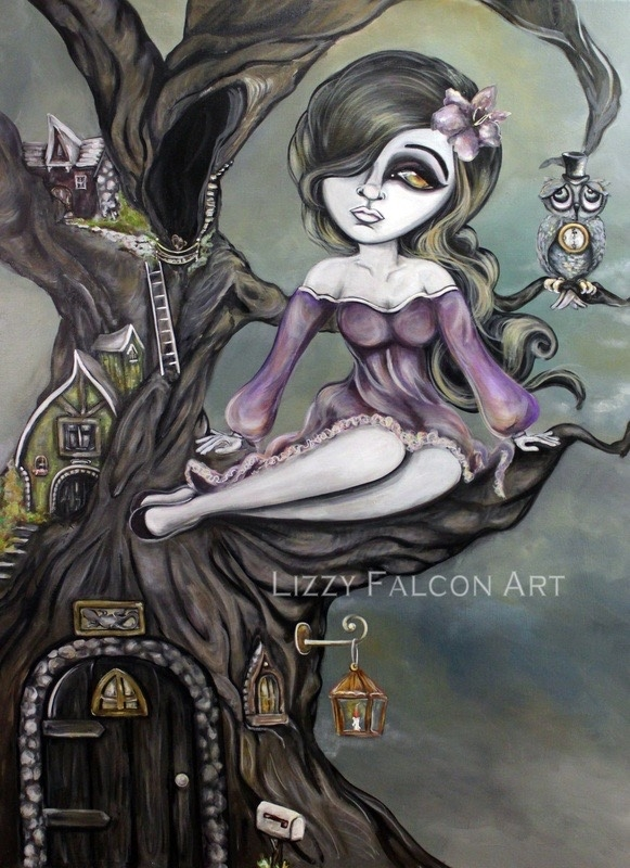 11-Lizzy-Falcon-Paintings-with-Large-Eyes-and-Big-Personalities-www-designstack-co