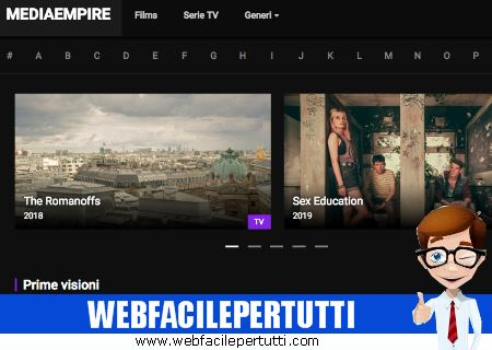 MediaEmpire - Guarda Film e Serie TV in Streaming Gratis su Android