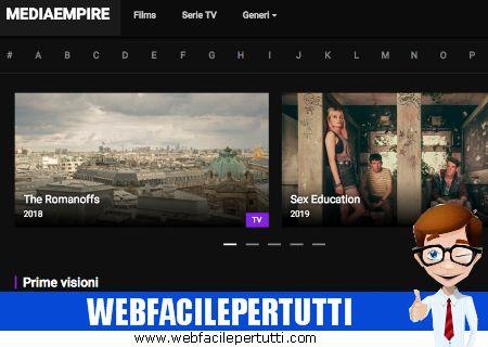 MediaEmpire - Guarda Film e Serie TV in Streaming Gratis su Android