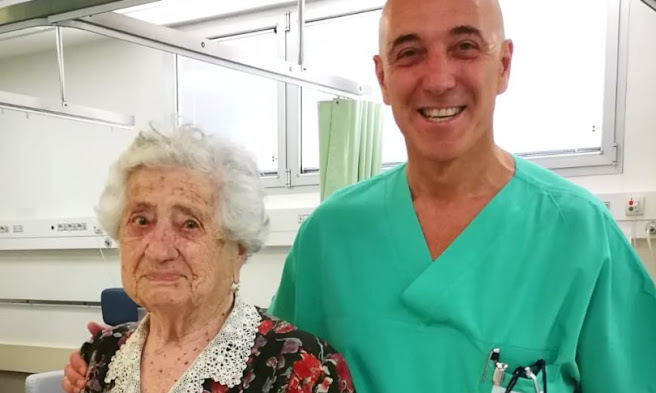 Compie 100 anni nonna Giulia e grazie a due interventi cardiaci, tornerà a fare gite in montagna