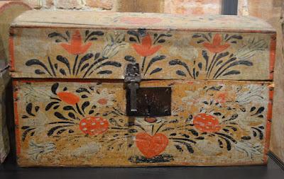 Malle peinte normande Rouen