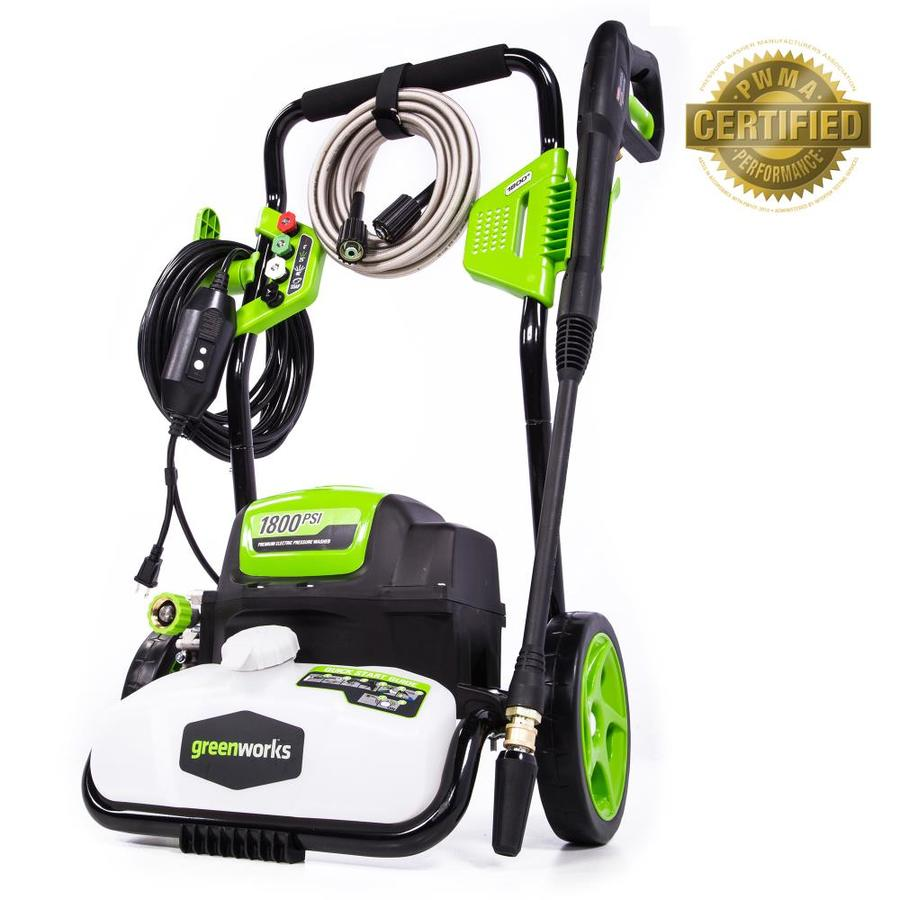 Greenworks 1800 pressure washer review