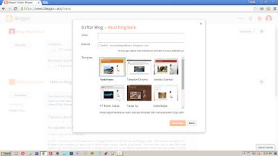Tutorial Membuat Blog di Blogger.com