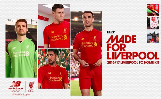 New Balance triunfa con la nueva del Liverpool