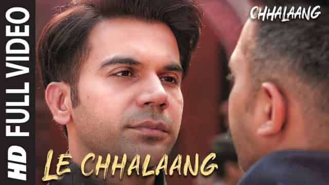 ले छलांग Le Chhalaang Lyrics In Hindi - Chhalaang