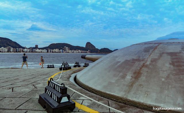 Cúpula dos Canhões do Forte de Copacabana, Rio de Janeiro