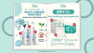 hand sanitizer untuk bayi