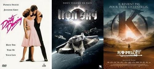Affiches des films vus en juillet-août