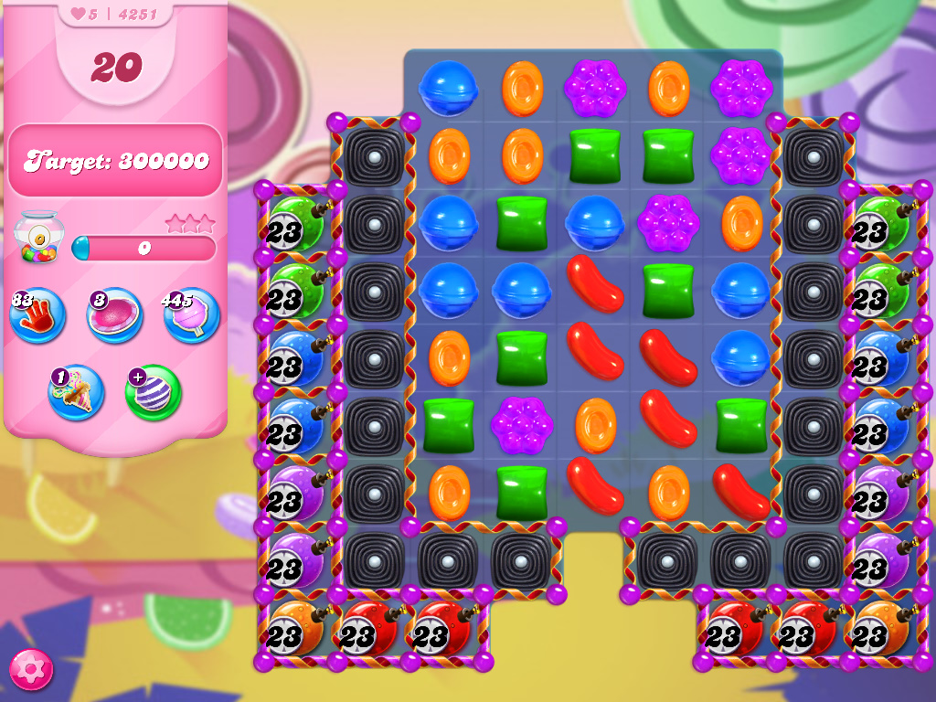 Candy Crush Saga level 4251