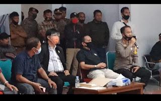 Aliansi Masyarakat Toraja Kembali Unjuk Rasa Di PT. Malea dan Di DPRD, Polres Tana Toraja Maksimalkan Pengamanan