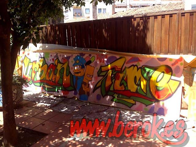taller de graffitis de verano
