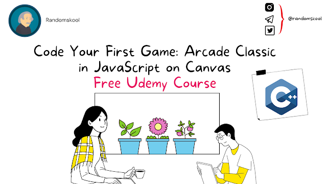 Free Course | Code Your First Game: Arcade Classic in JavaScript on Canvas | Udemy