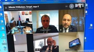Видеоконференция Александр Осипов | Сергей Вострецов