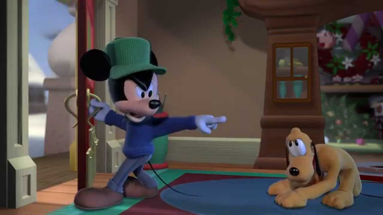 Murray Christmas To Quote Blitzen Oh My Head Meanwhile Mickey Discovers That Pluto Has Run Away And Feeling Guilty For Yelling At Him