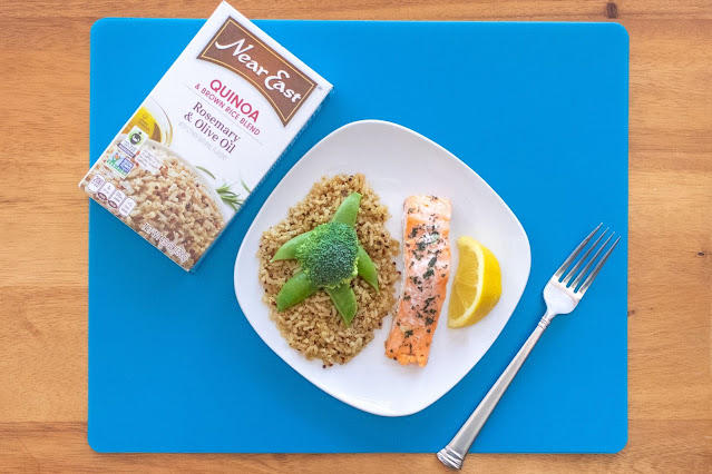 How to Make a Salmon Under the Sea Dinner With Your Kids!