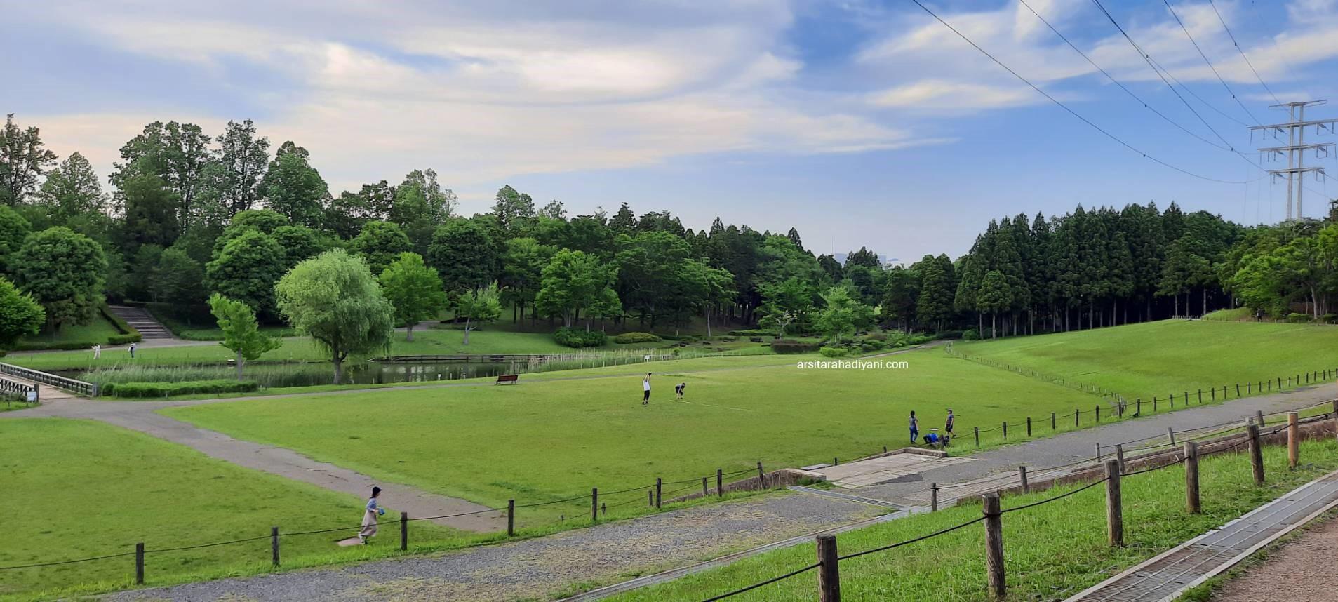 Taman di Tsukuba, Science Expo memorial park