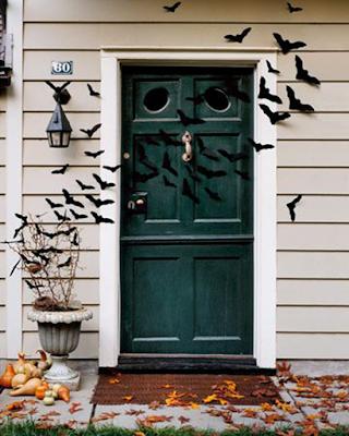 Deco hogar halloween entrada