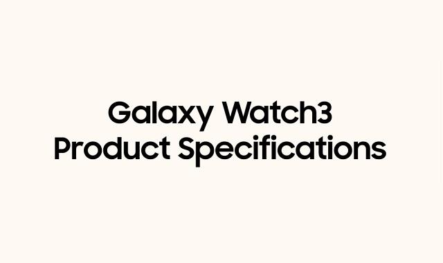 The Galaxy Watch3
