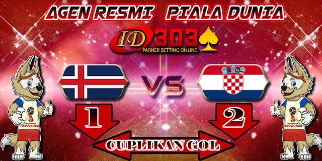 CUPLIKAN GOL ICELAND 1 - 2 CROATIA