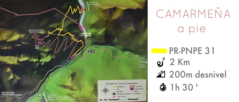 plano ruta a camarmeña